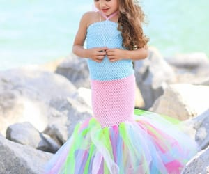costume, mermaid dress, and halloween outfit image