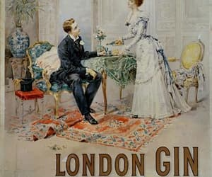 19th century, advertisement, and gin image