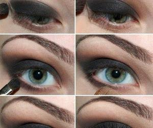 cool, makeup, and eyes image