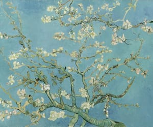 almond, art, and blossoms image
