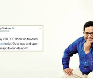 tech world, paytm, and kerala flood relief image