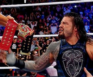 wwe, roman reigns, and gif image