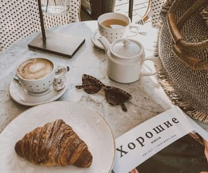 accessories, book, and breakfast image