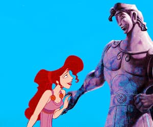 animation, disney, and hercules image