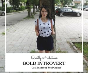 blog, blogger, and introvert image