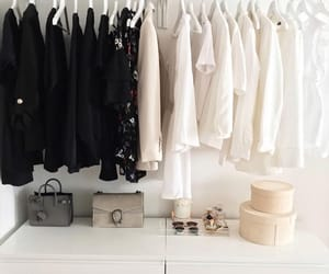 clothes, organization, and room image