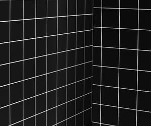 black, white, and wallpaper image
