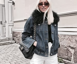 blonde, fashion, and outfit image