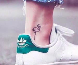 tattoo and flamingo image