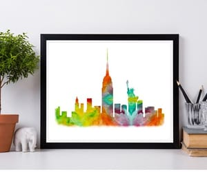 colorful, etsy, and poster image