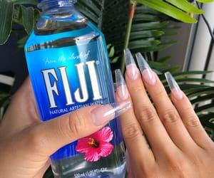 nails, fiji, and water image