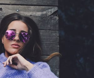 cool, gafas, and purple image