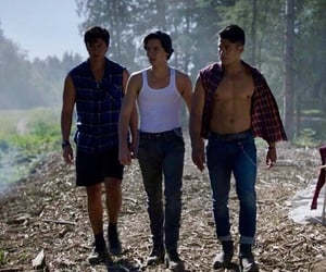 sweet pea, cole sprouse, and riverdale image