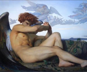 alexandre cabanel and fallen angel image