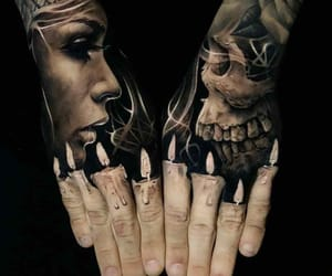 candles, cool, and Tattoos image