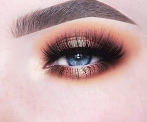 eye, eyelash, and make-up image