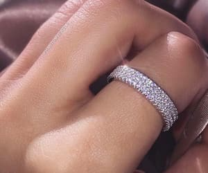 ring and beautiful hand image
