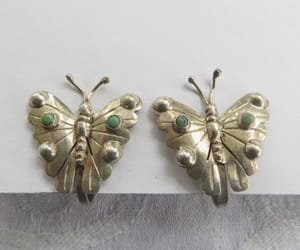 butterflies, vintage butterfly, and butterfly jewelry image