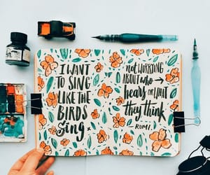 art and bullet journal image