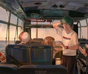 anime, boku no hero academia, and uraraka image