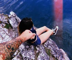 adventure, couplegoals, and tatoo image