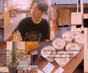 aesthetic, Collage, and coffee image