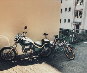 frankfurt, motorcycle, and travel image