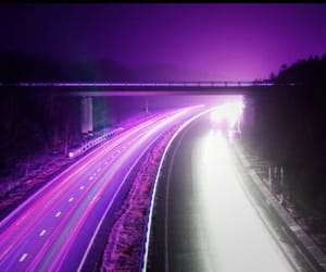 cars, purple, and aes image