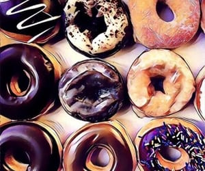 donuts, fine lines, and food image