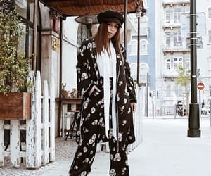 blogger, fashion, and black outfit image