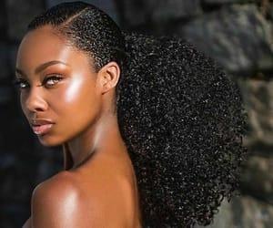 beauty, hair, and melanin image
