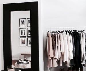 black, interior design, and life image