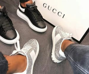 Alexander McQueen, gucci, and sneakers image