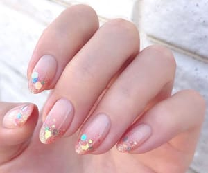 nail art, nails, and manicure image