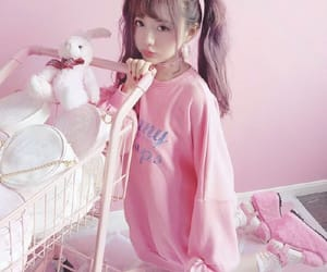 angel, ulzzang, and pink image