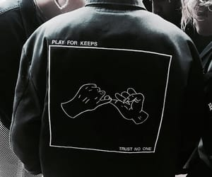 grunge, black, and jacket image