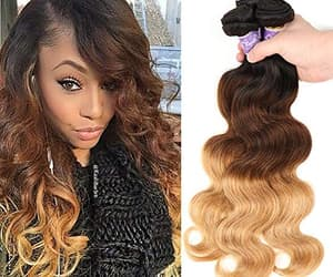 hair extensions, sew-in weave, and lace frontal closure image