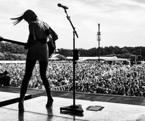 badass, Lollapalooza, and crowd image