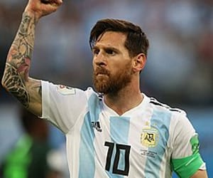 argentina, messi, and Barcelona image