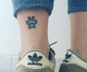 tattoo, adidas, and girly image