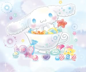 bright, cinnamoroll, and fluffy image