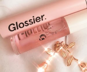 glossy, pink, and aesthetic image