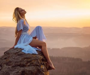 beautiful, rock, and summer image