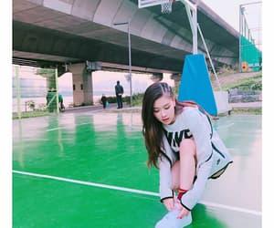 asian, Basketball, and ground image