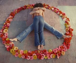 flowers, hippies, and peace image