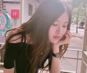 drink, korean, and rose image