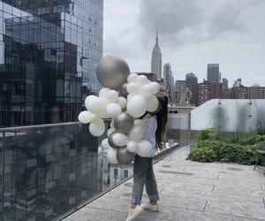 ariana grande, sweetener, and balloons image