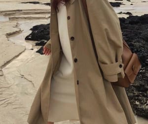 autumn, brown, and dress image