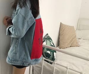 clothes, inspiration, and jean jacket image