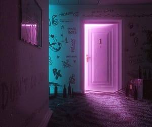 neon, alternative, and dark image